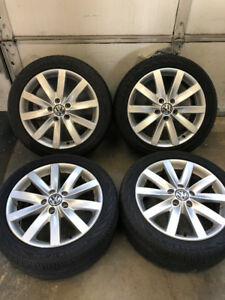 Factory VW rims w/ Conti tires