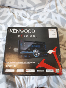 Kenwood Excelon Bluetooth Car Stereo