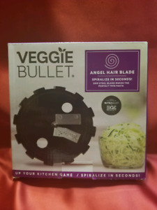 Veggie Bullet Food Processor and Blender Kit - Includes 2 Blade