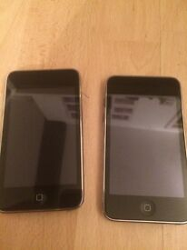 2 x iPod touch 3rd generation 8gb (one faulty)