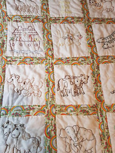 New - hand made - baby crib quilt - calls only