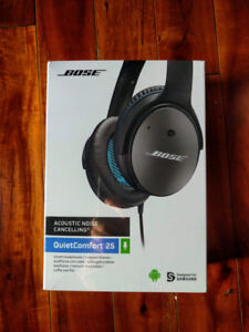 BNIB : BOSE QUIETCOMFORT 25 ANDROID Acoustic Noise Cancelling
