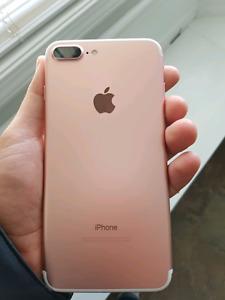 Iphone 7 plus 32gb - Rose Gold - $680