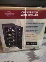 Countertop 10 bottle wine fridge