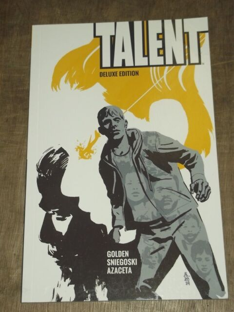 TALENT DELUXE EDITION BOOM STUDIOS GOLDEN SNIEGOSKI GRAPHIC NOVEL< 9781608864508