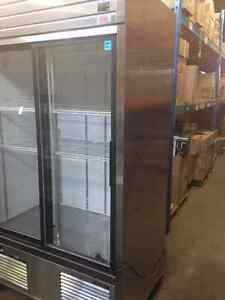 Réfrigérateur / frigo / fridge / commercial / 2 glass doors