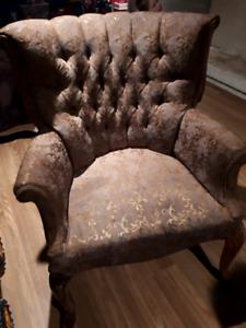 Chaise antique (style bergère)
