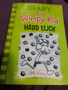 Diary of a Wimpy Kid: Hard Luck book