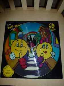 THE PAC MAN ALBUM--PHONO PICTURE DISC LIMITED EDITION London Ontario image 2