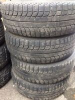 $$$160$$$ très bon michelin x-ice 215/60r16!!!$$$160$$$