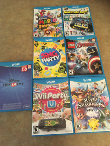 Nintendo Wii U Games for sale - Excelent Condition