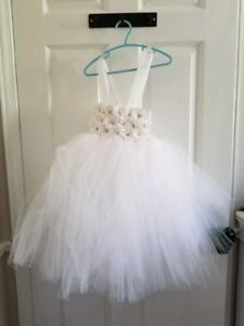 Tutu Flower Girl Dress