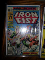 IRON FIST 14 FIRST APPEARANCE OF SABRETOOTH COMIC