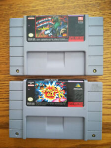 Two SNES games for $25. Work great.