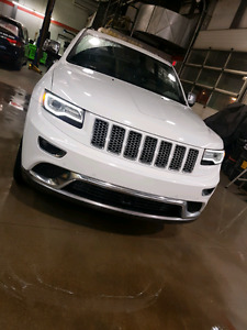 2014 Jeep Grand Cherokee Summit 5.7 covered to 2018 june
