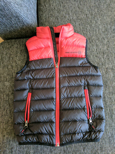 Boys spring jacket and vest - size 6/6x -as  new