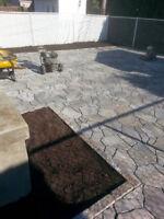 Réparation de pavé - Redressement - Installation