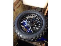 """Brand new 10"""" pit bike back wheel cheap"""
