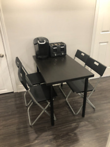 Table and 4 Chairs!