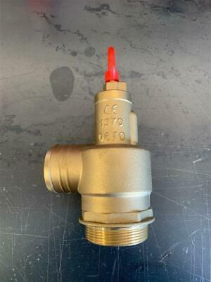 364-306-2 2 Brass Pressure Relief Valve National Vacuum