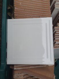 6 yards white tiles