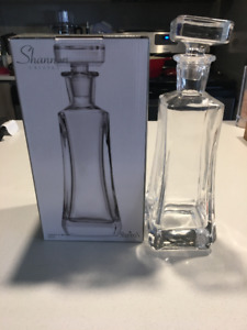Shannon Crystal Whisky Decanter