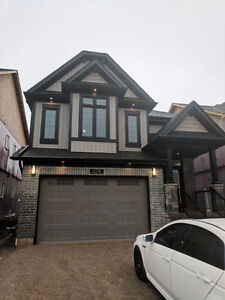 BRAND NEW Detached Home, Minutes to UW and WLU-with 1 bed baseme