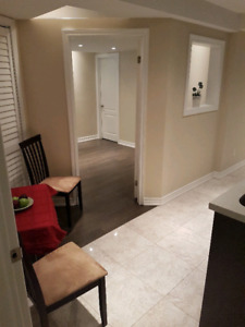 All Included, Luxury one bedroom basement apartment Mcvean& Hwy7