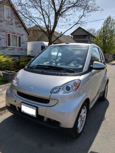 2009 Smart Fortwo Convertible Passion, 34000 km, $7900