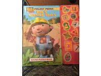 Bob the builder sound puzzle book