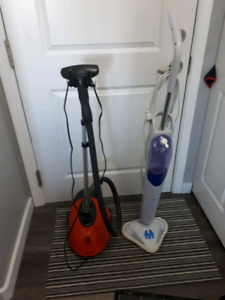 H20 Steam mop & Garment steamer, barely used.. Amazing Deal !