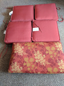 OUTDOOR CUSHIONS - NEVER USED
