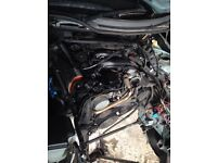BMW e46 320d turbo Diesel engine breaking for spares