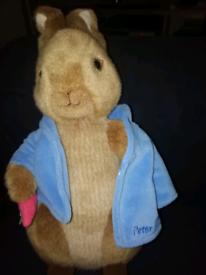 Peter rabbit soft toy