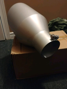 "New never used exhaust tip 4"" in 8"" out 100$ firm"