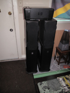 Home Theatre Tower Speakers
