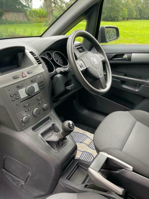 2007 Vauxhall Zafira CLUB 16V 1 FORMER OWNER 9 SERVICE STAMPS MPV Petrol Manual