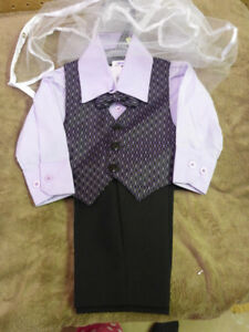 BNWT BABY BOY'S FORMAL OUTFIT (6 MONTHS, 16lbs)