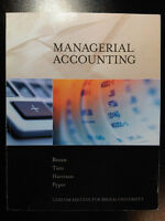 Managerial Accounting (ACTG 1P12)