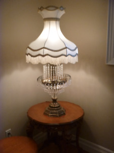 Crystal Vintage Table Lamps