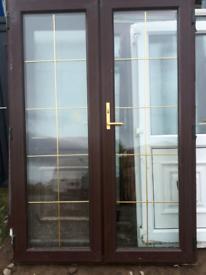 Upvc patio doors rosewood