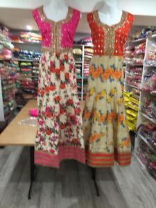Indian/Pakistani dress (Anarkali, Straight, Fancy, Floral)