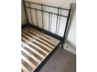 Double back bed frame
