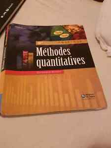 Méthodes quantitative