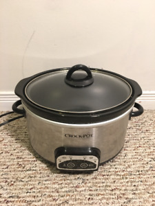 Programmable 4 qt Crock Pot mint condition $30 from Amazon.ca