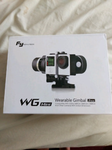 Wearable Action Camera Gimbal by FeiyuTech WG Mini
