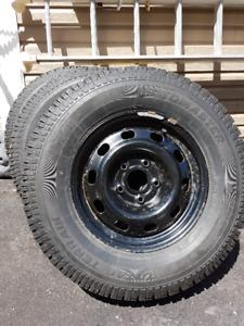 Studded Winter Tires Motomaster Total Terrain LT 265 70R17
