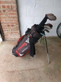 Full set golf clubs Wilson, Callaway, Ben ross