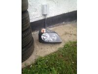 Renault Clio drivers side headlight (new)