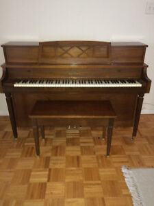 Willis & Co Limited Upright Piano For Sale